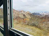 Sightseeing by Denali National Park and Preserve tour bus