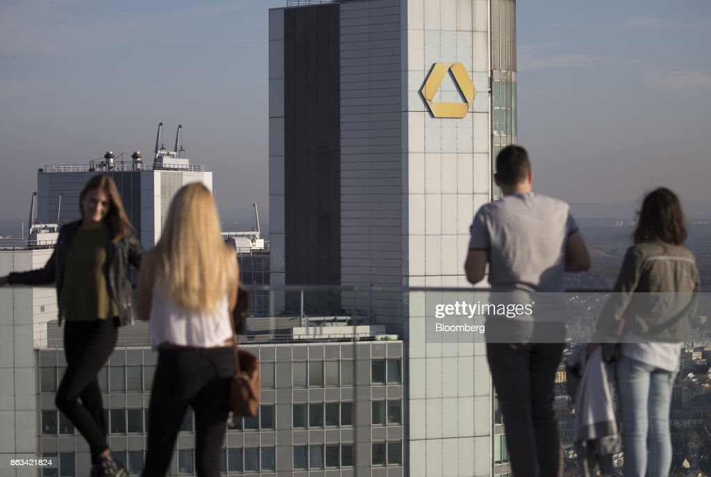 Commerzbank AG Headquarters As Germany's Second Biggest Bank Attracts Suitors
