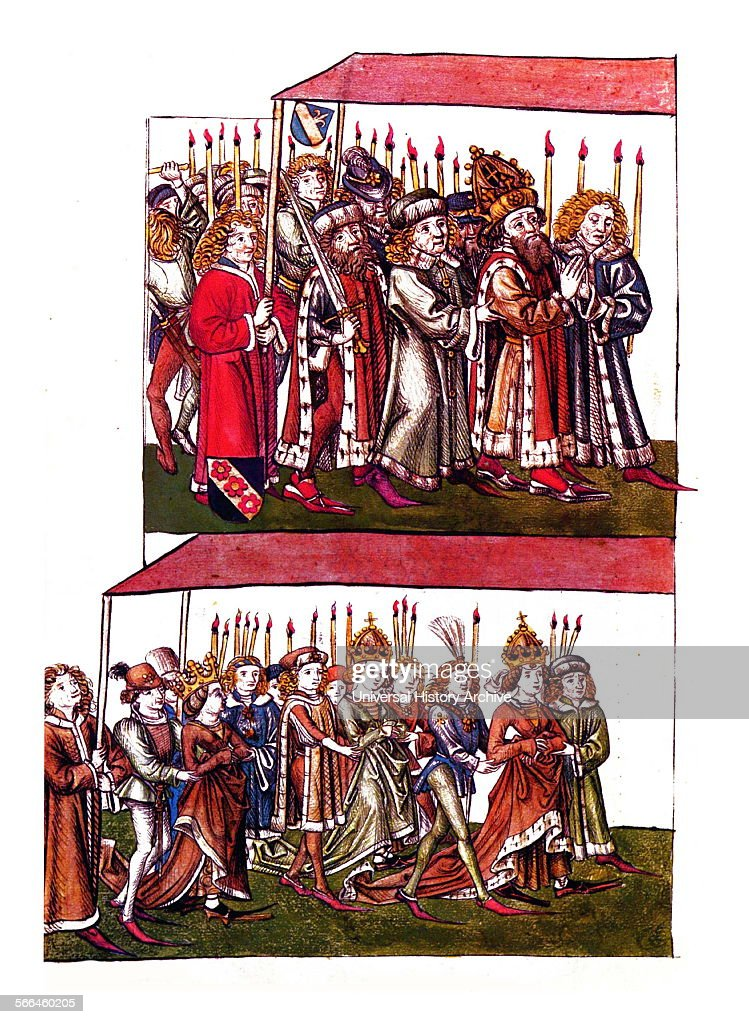 Sigismund and Barbara of Celje at the Council of Constance Sigismund of Luxemburg Holy Roman Emperor from 1433 until 1437 The Council of Constance is...