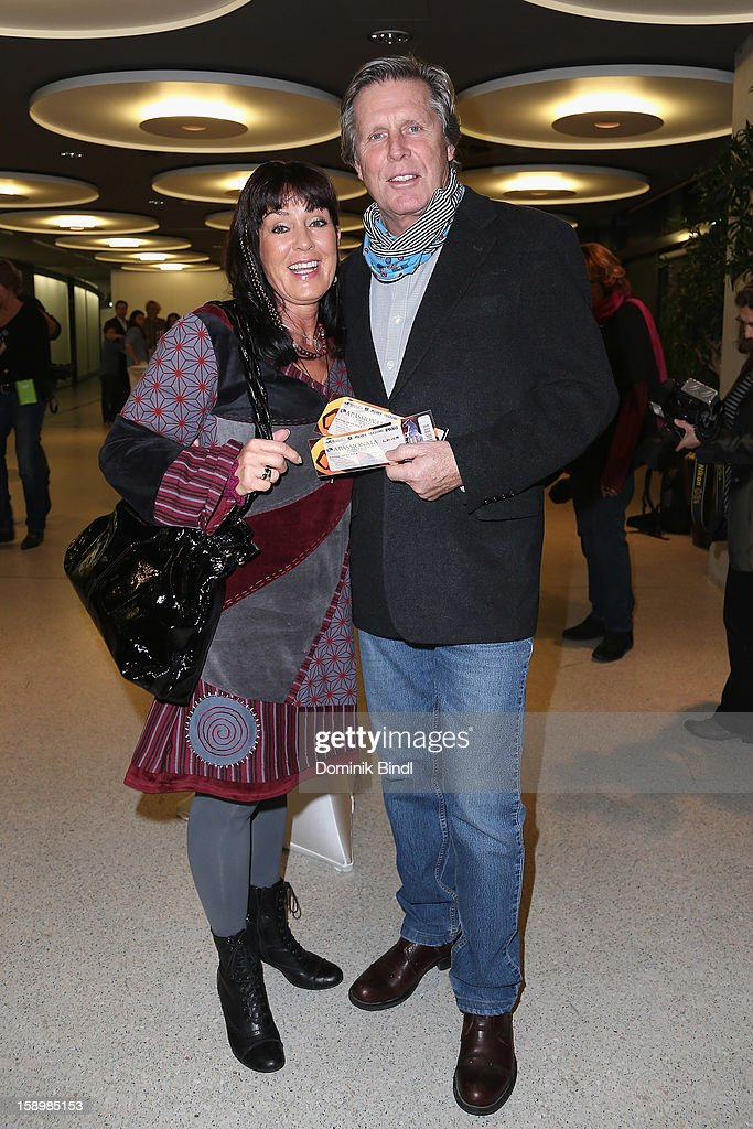 Sigmar Solbach and Claudia Solbach attend the show 10 years of Appassionata - Friends Forever on January 4, 2013 in Munich, Germany.