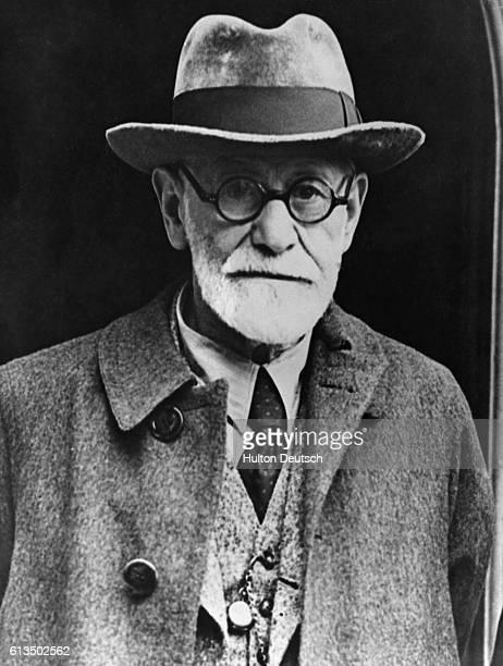Sigmund Freud the Austrian psychiatrist and founder of psychoanalysis