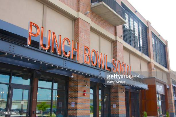 Sign above Cleveland lounge entrance