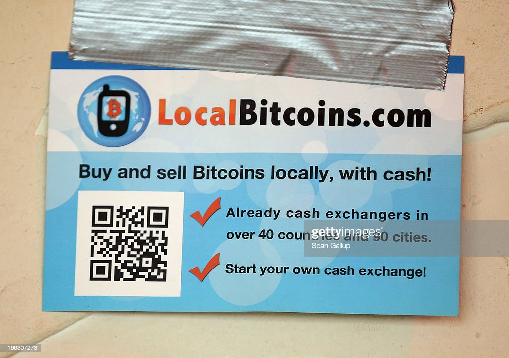 A sign advertises Bitcoins at a pub, where Bitcoins are also accepted for payment, on April 11, 2013 in Berlin, Germany. Bitcoins are a digital currency traded on the MTGox exchange, and the value of the virtual money fluctuated from USD 260 per bitcoin down to USD 130 per bitcoin yesterday and recovered somewhat in trading today.