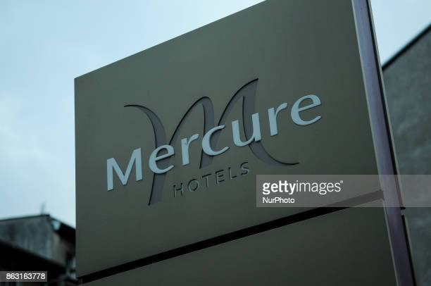 A sign at a Mercure hotel is seen in Bydgoszcz Poland on 19 October 2017