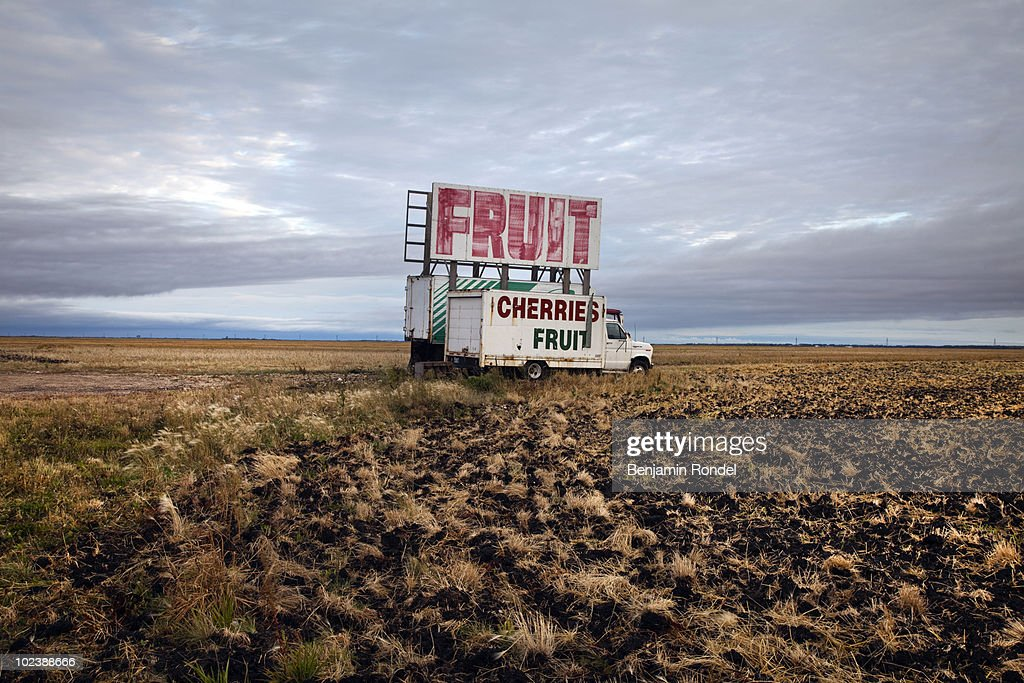 Sign by the road : Stock Photo