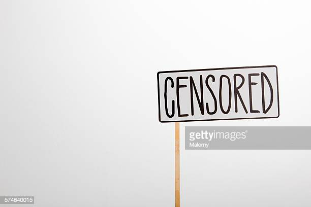 Sign: censored
