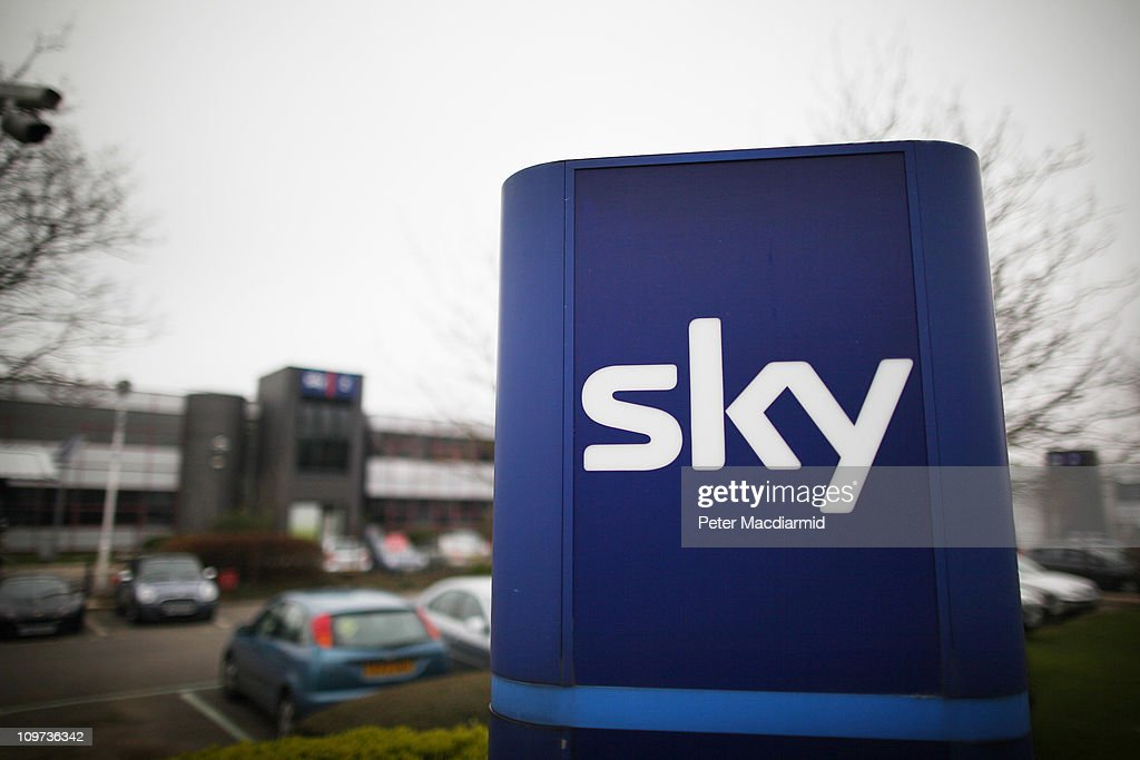 A sign detones the entrance to a Sky television building on March 3, 2011 in Osterley Park, England. The British government has given the go-ahead for Rupert Murdoch's News Corporation to takeover satellite broadcaster BSkyB. The deal has been allowed after News Corporation offered to spin off Sky News.