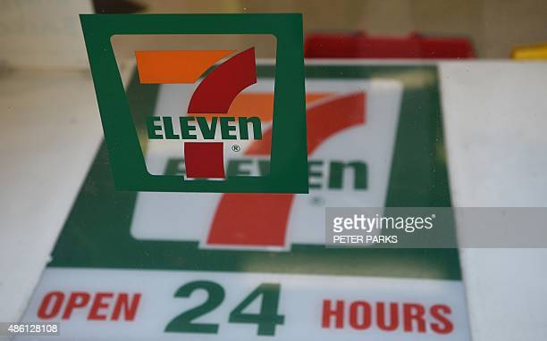 A sign for a 7Eleven convenience store is seen at a store in Sydney on September 1 2015 The convenience store giant will establish an independent...