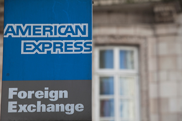 Forex exchange rate for today for american express