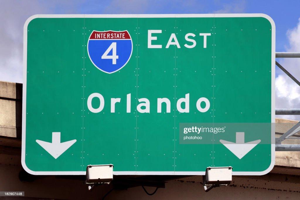 Sign for Orlando