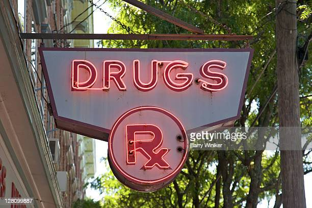 Sign for Pharmacy or Drug Store, Dutchess County, New York