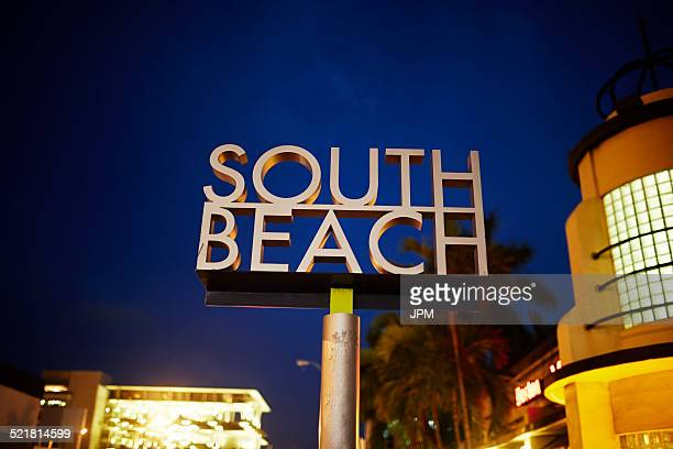 Sign for South Beach