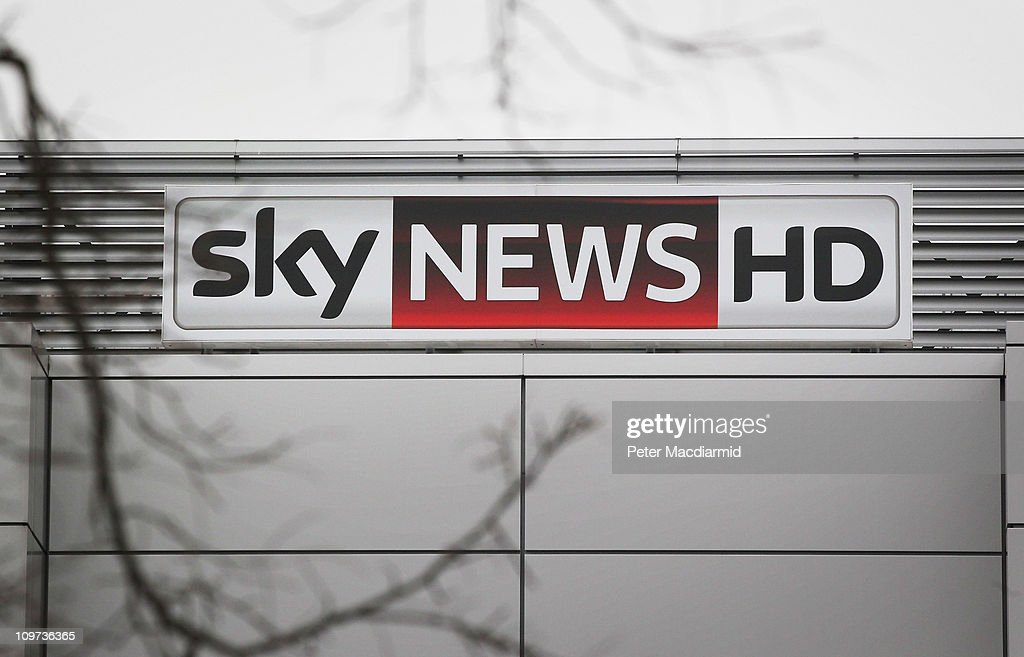 A sign hangs on the front of the Sky News headquarters building on March 3, 2011 in Osterley Park, England. The British government has given the go-ahead for Rupert Murdoch's News Corporation to takeover satellite broadcaster BSkyB. The deal has been allowed after News Corporation offered to spin off Sky News.