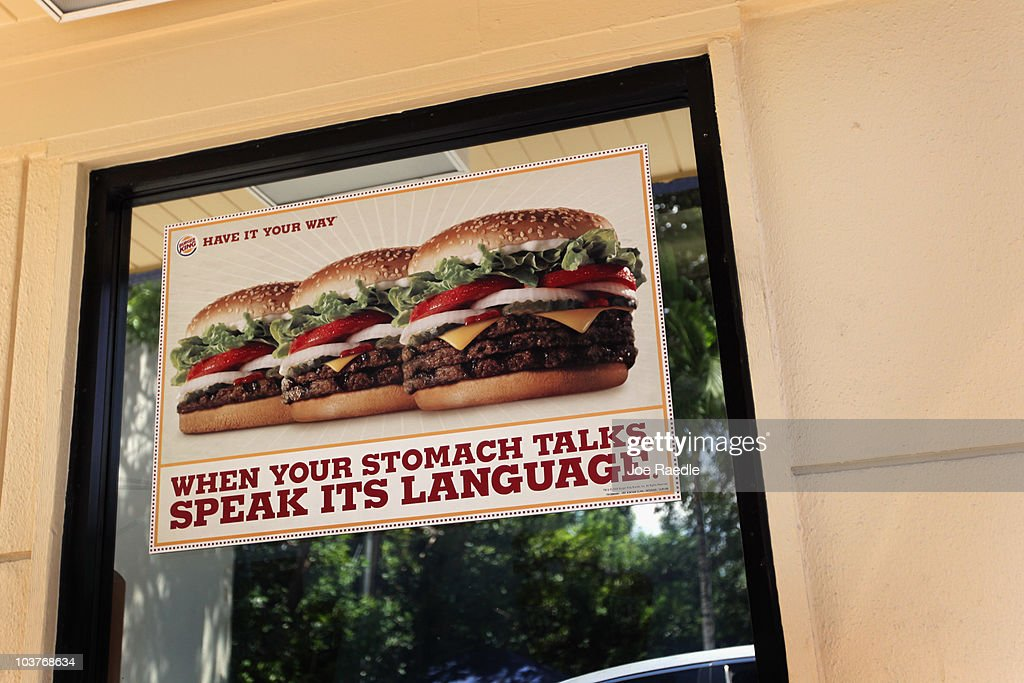 A sign hangs on the window of a Burger King restaurant as reports indicate the company may be considering a sale of itself on September 1, 2010 in Miami, Florida. Burger King is the second-largest hamburger chain in the United States.