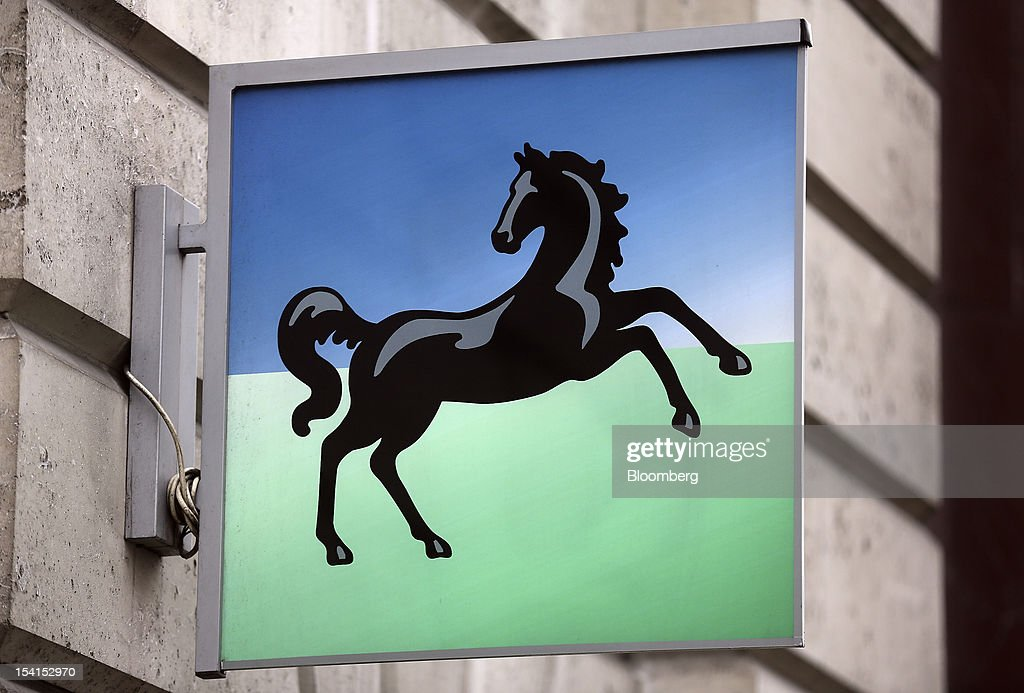 A sign hangs outside a Lloyds TSB bank branch, part of the Lloyds Banking Group Plc, in London, U.K., on Monday, Oct. 15, 2012. U.S. homeowners filed a lawsuit against 12 banks, including Lloyds Banking Group Plc, Barclays Bank Plc, and JPMorgan Chase & Co., claiming that manipulation of the benchmark Libor lending rate made their mortgage repayments more expensive. Photographer: Simon Dawson/Bloomberg via Getty Images