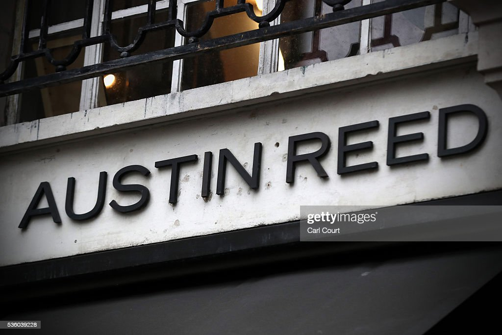 A sign is displayed outside an Austin Reed store on May 31, 2016 in London, England. After going into administration last month and failing to find a buyer, the company today announced that all 120 Austin Reed stores will close by the end of June with a loss 1,000 jobs.