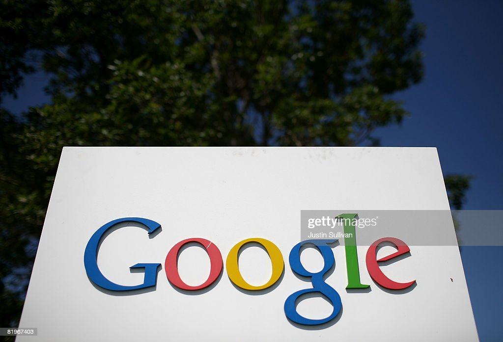 A sign is displayed outside of the Google headquarters July 17, 2008 in Mountain View, California. Google Inc. is expected to announce an increase in quarterly profits when it reports its quarterly earnings today after the closing bell.
