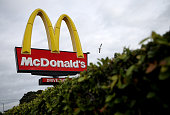 A sign is posted outside of a McDonald's restaurant on December 8 2014 in San Rafael California McDonald's reported a worse than expected decline in...