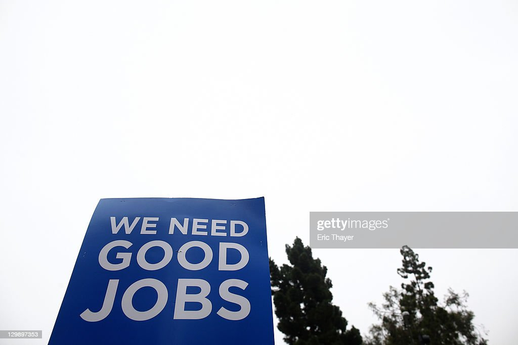 A sign is seen as protesters demonstrate the annual shareholder meeting of News Corp at Fox Studios October 21, 2011 in Century City, California. Protesters are demonstrating against Fox and News Corp's for what they see as one-sided reporting practices.