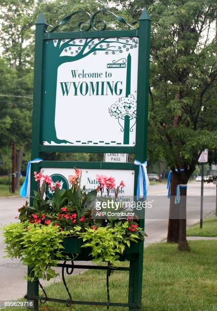 A sign is seen in Wyoming Ohio on June 22 before the funeral of Otto Warmbier Warmbier an American university student who while visiting North Korea...