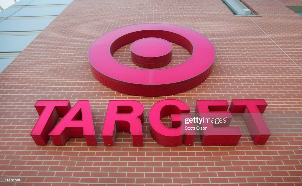 A sign is seen on the exterior of a Target store July, 18, 2006 in Chicago, Illinois. Heightened concerns that energy prices are slowing consumer spending helped to drag shares of Target down today for their biggest one-day percentage slide in eight months.