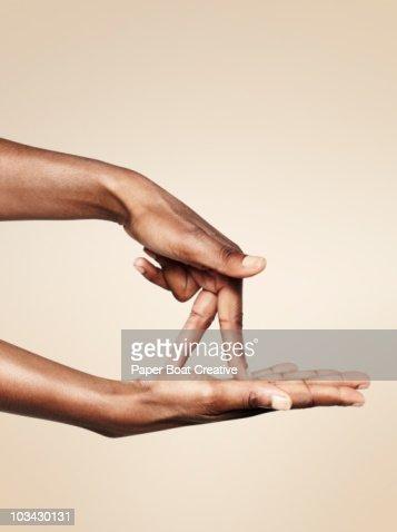 sign language for walking