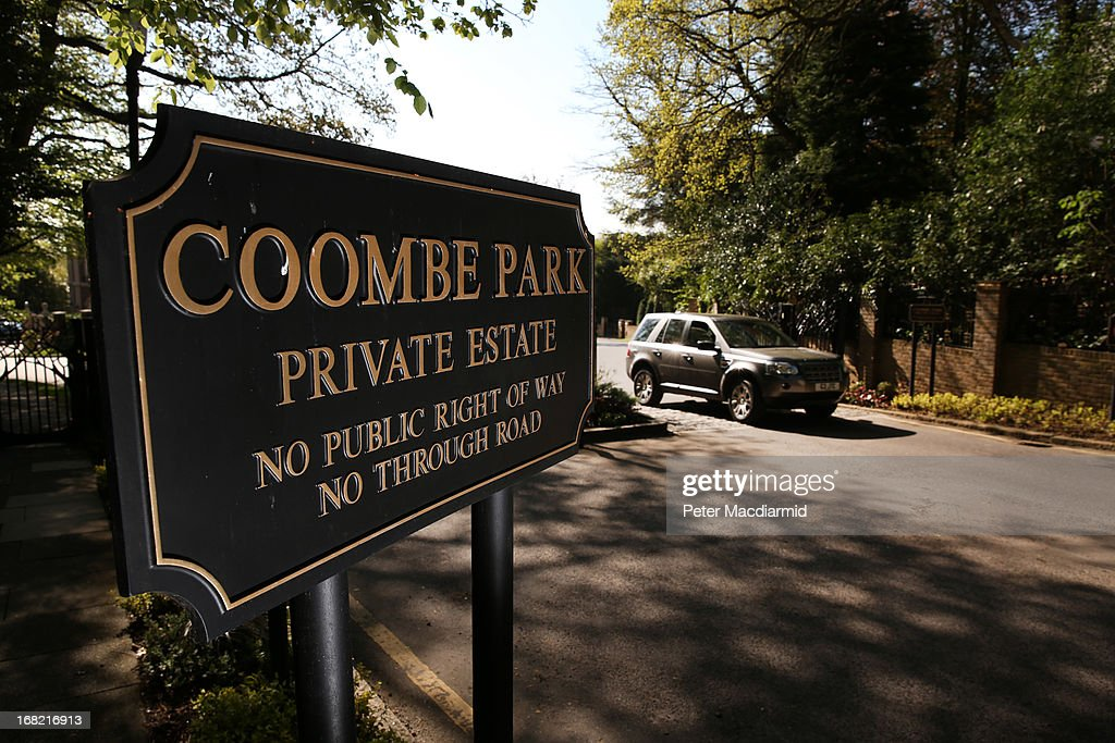 A sign marks the entrance to The Coombe Park estate where Jimmy Tarbuck has a house on May 7, 2013 in Kingston upon Thames, England. British entertainer Jimmy Tarbuck has been arrested and bailed in relation to an allegation of child sex abuse from the 1970s.