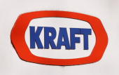 A sign marks the location of the Research and Development center for Kraft Food Inc January 19 2010 in Glenview Illinois The British chocolate giant...