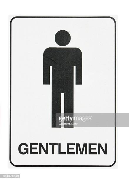 Sign - Mens Toilet