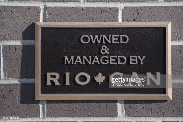 CAN sign or logo RioCan Real Estate Investment Trust is the largest real estate investment trust in Canada