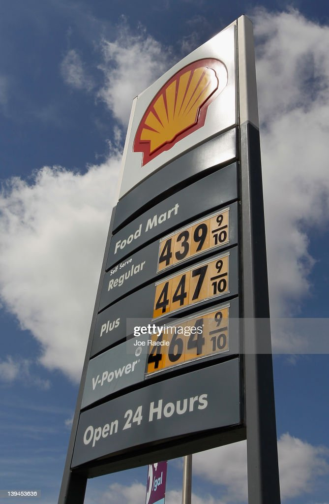 A sign outside of Shell station indicate that all grades of gasoline have already surpassed the $4 mark on February 21, 2012 in Miami, Florida. Fears of $5 per gallon gasoline are being heard as summer approaches and some feel that would hurt the economy just as an economic recovery appears to be getting traction.