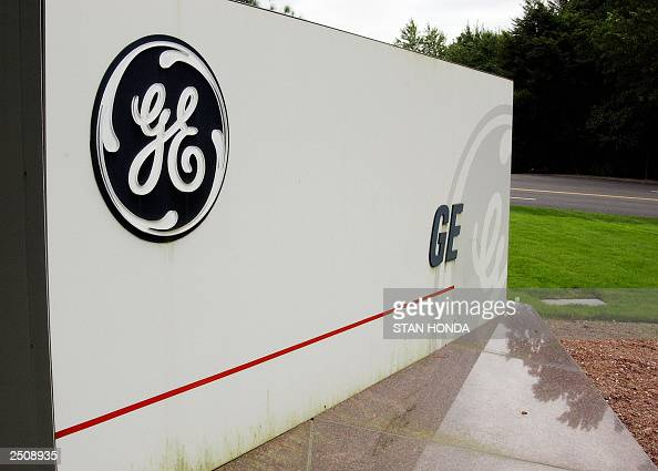 A sign outside the corporate headquarters of the General Electric company 18 September in Fairfield Connecticut AFP PHOTO/Stan HONDA