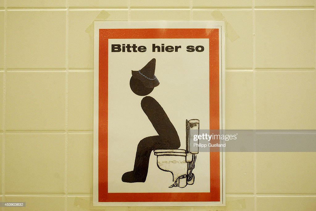 Bathroom Signs In Germany munich prepares for oktoberfest photos and images | getty images