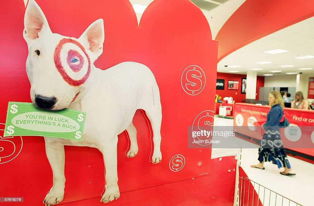 Targets profits rise 12 percent in first quarter getty What kind of dog is the target mascot