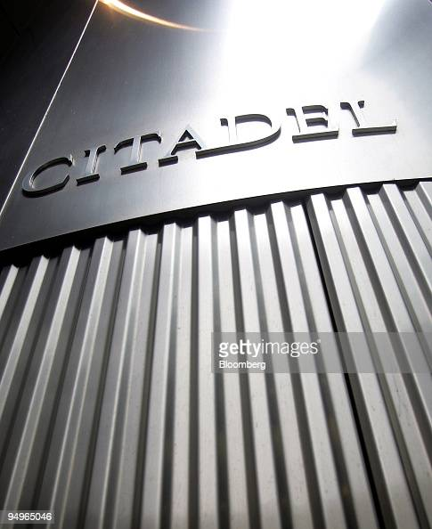 Signage for Citadel Investment Group LLC hangs outside their office in Chicago Illinois US on Friday July 10 2009 Citadel Investment Group LLC the...