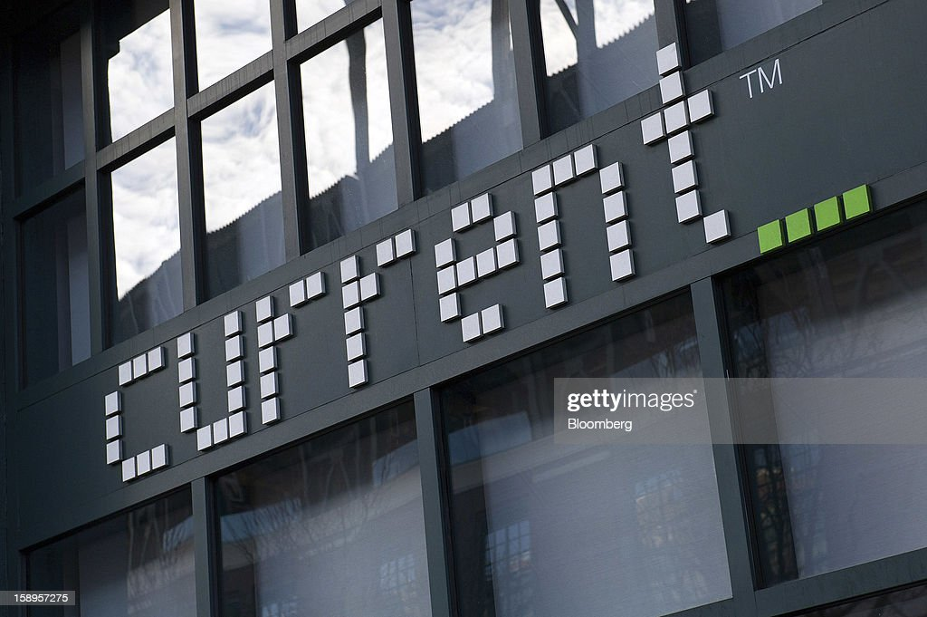 Signage for Current TV LLC is displayed on the facade of company headquarters in San Francisco, California, U.S., on Friday, Jan. 4, 2013. Al Jazeera will pay about $500 million for Current TV, including the stake held by former vice president Al Gore according to two people with knowledge of the deal. Photographer: David Paul Morris/Bloomberg via Getty Images