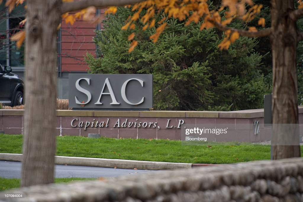Signage for SAC Capital Advisors LP stands at their offices in Stamford Connecticut US on Tuesday Nov 23 2010 Steven A Cohen's SAC Capital Advisors...