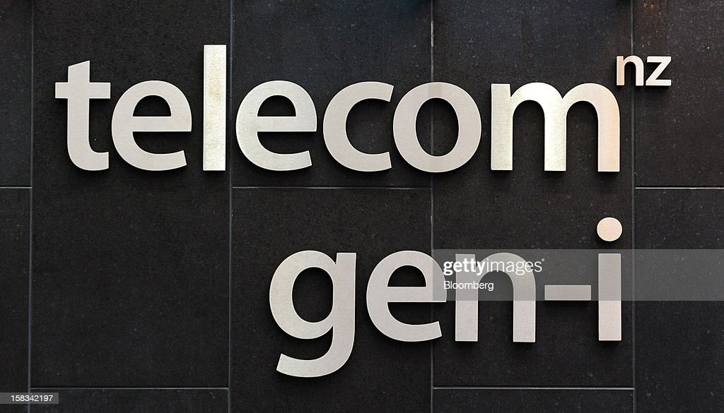 Signage for Telecom Corp. of New Zealand's Gen-i unit is displayed in Wellington, New Zealand, on Thursday, Dec. 13, 2012. New Zealand's policymakers are vexing investors with shock rulings that are causing major stock market swings, Telecom Chief Executive Officer Simon Moutter said. Photographer: Mark Coote/Bloomberg via Getty Images