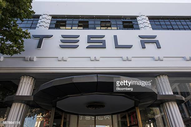 Tesla Model 3 Stock Photos And Pictures Getty Images