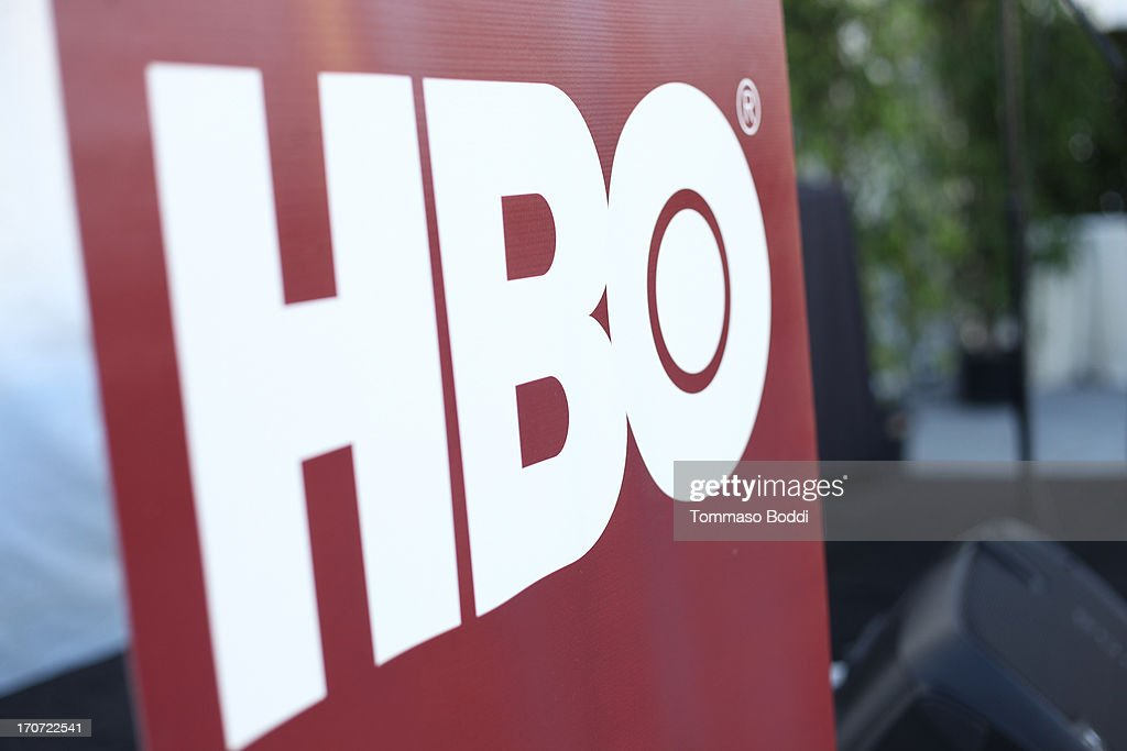 HBO signage is displayed at the HBO Docs Reception during the 2013 Los Angeles Film Festival at L.A. Live Event Deck on June 16, 2013 in Los Angeles, California.