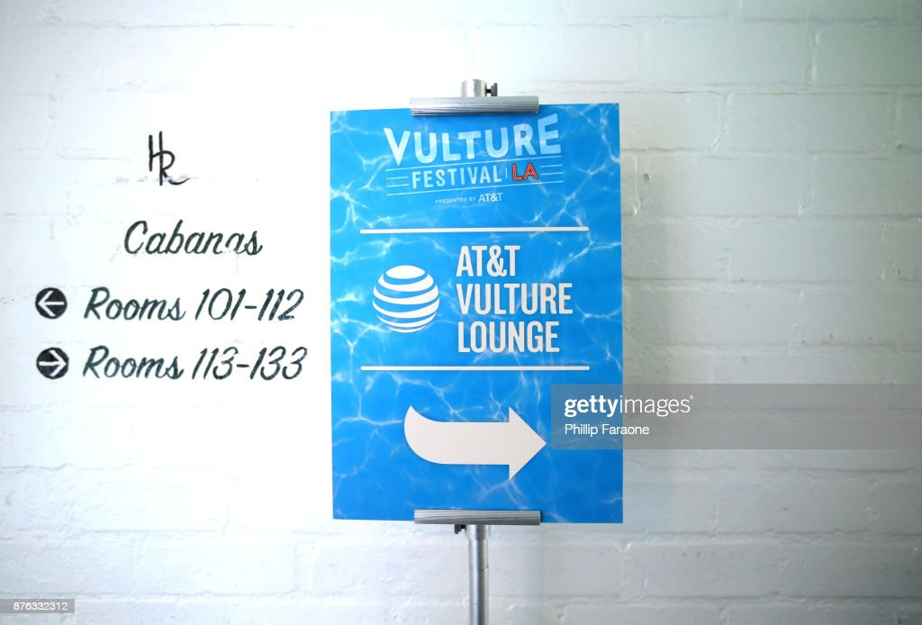 Vulture Festival LA Presented By AT&T - Vulture Lounge Day 2