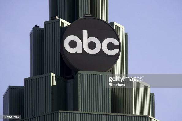 Signage is displayed on the ABC Inc building in Burbank California US on Saturday Dec 11 2010 Sales for Hollywood studios in 2010 may fall below...