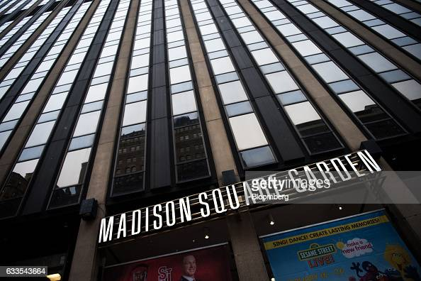Madison Square Garden Ahead Of Earnings Figures Photos and