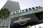 Signage is displayed outside of the NBC Universal Inc building in Universal City California US on Saturday Dec 11 2010 Sales for Hollywood studios in...