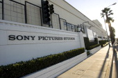 Signage is displayed outside of the Sony Pictures Entertainment Inc Studios building in Culver City California US on Monday Dec 13 2010 Sales for...
