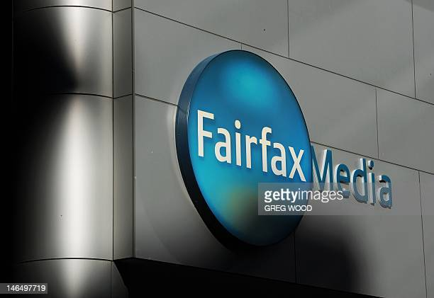 Signage is displayed outside the Sydney office of Fairfax Media on June 18 2012 Fairfax said June 18 it will slash 1900 jobs and erect paywalls on...