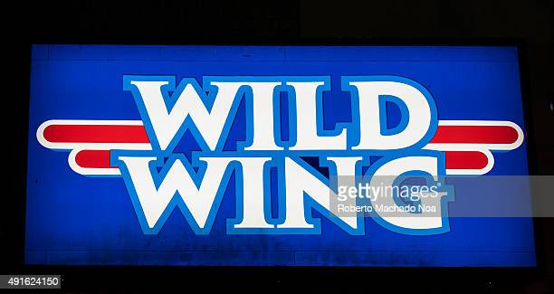WELLESLEY TORONTO ONTARIO CANADA Signage of Wild Wing restaurant Wild Wing Restaurants is a Canadian franchised restaurant chain that specializes in...