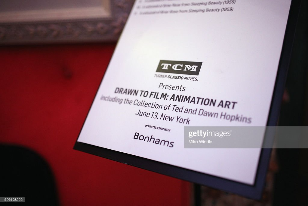 Signage on display during day 2 of the TCM Classic Film Festival 2016 on April 29, 2016 in Los Angeles, California. 25826_008
