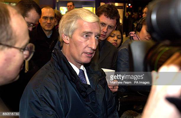 Signalman Les Hayes speaks to the media at Victoria Station in London Hayes who is based at Clapham signal box averted a possible disaster when his...