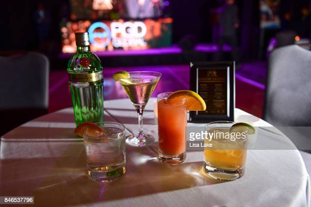 Signature Drinks served at The Julius Erving Golf Classic Black Tie Ball sponsored by Delta Airlines Pond LeHocky Law with cocktails presented by...